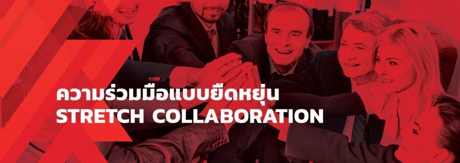 ความร่วมมือแบบยืดหยุ่น Stretch Collaboration